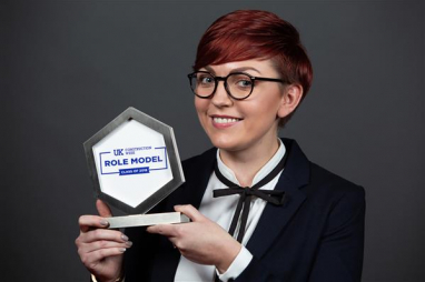 Arleta Andreasik-Paton, last year's UK Construction Week Role Model of the Year.