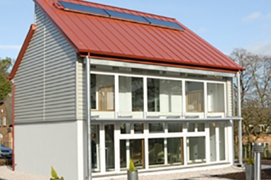 Nottingham University Creative Energy Homes project