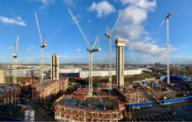 Construction industry needs 217,000 new workers to meet demand by 2025 as sector leads post-Covid recovery, says CITB.