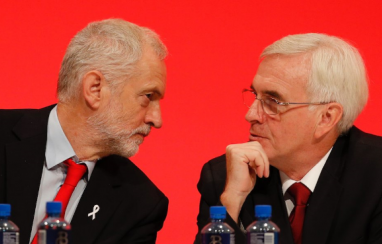 Labour leader Jeremy Corbyn (left) and shadow chancellor John McDonnell.