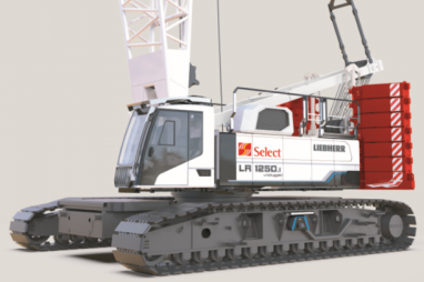 Laing O'Rourke's Select will be the first UK business to take delivery of the world's first battery powered crawler crane.