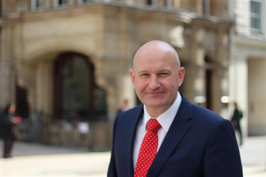 Graham Sant, newly appointed executive director at BWB Consulting in Manchester.