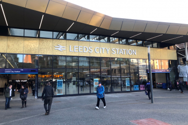Leeds - the proposed location of the new national infrastructure bank.