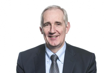 Leo Quinn, Balfour Beatty group chief executive. The company's profits have jumped 8% to £221m in 2019 financial results.