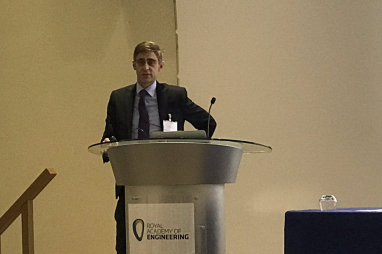 Mark Enzer, chief technical officer at Mott MacDonald, speaking at the European CIO Conference in London.