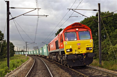 Key railway workers enabled 370,000 tonnes of vital food, medicine and other supplies to be moved last week.