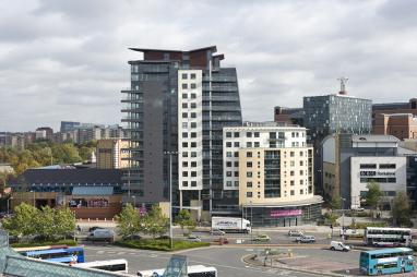 Leeds, the location of the government's new national infrastructure bank.
