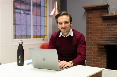 Julian Penna, business analyst at Pagabo, who have launched their new digital procurement platform.