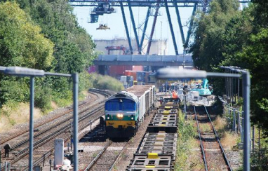 £17m funding for rail upgrade to freight services in Southampton released.