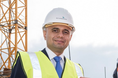 Chancellor of the exchequer, Sajid Javid.