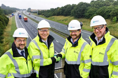 Tarmac secures nine-year A1 Darrington to Dishforth contract extension.