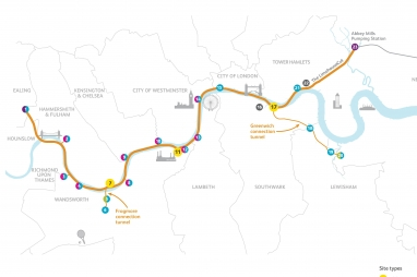 Tideway proposed route