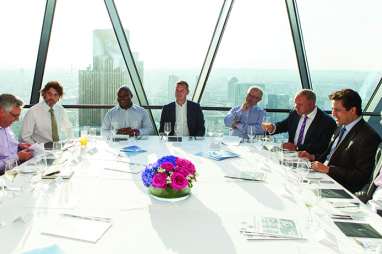 Deltek supported Infrastructure Intelligence SME round table