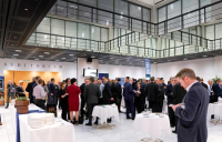 Delegates network at the 2018 European CEO Conference.