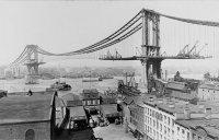 Emily Warren Roebling was the first female field engineer and saw out the completion of the Brooklyn Bridge.