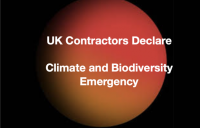 Coalition of major UK contractors make their own commitment to tackling climate emergency, and invites others to join campaign.