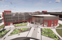 Newly unveiled designs have revealed what a revitalised Darlington Station could look like once a major £100m redevelopment is complete.