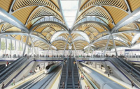 The new HS2 station at London Euston.