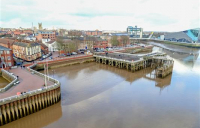 £42m Hull tidal flood defence scheme has started construction work, helping reduce the risk of tidal flooding to 113,000 properties.