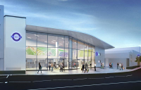 Works at Ilford station are set to begin in January, in readiness for the Elizabeth line.