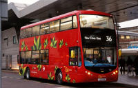 London's electric bus fleet becomes the largest in Europe, says TfL.