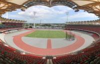 The new £80m stadium in the Gold Coast, the main venue for the 2018 Commonwealth Games.