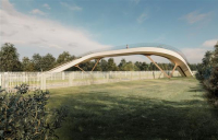 Network Rail has unveiled a new design of bridge that could transform rail crossings across Britain.