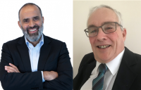 Network Rail has appointed (l-r) Ismail Amla and Stephen Duckworth OBE as non-executive board directors.