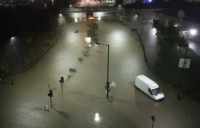 Severe flooding hits northern England, including Sheffield city centre.