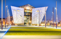 Belfast's Titanic Quarter, where further development will include studios and post-production facilities as well as offices and residential.