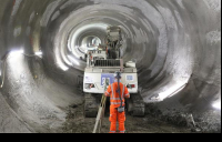 Major milestone as tunnelling work to modernise and expand Bank Underground station is completed.