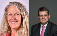 Martin Tugwell and Louise Gittins, pictured, have taken up key leadership roles at Transport for the North.