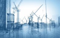 Construction sector rebounds in February amid boost from commercial work, according to latest PMI data.