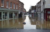 Flooding in York.