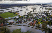 UK unprepared for climate change as severe floods hit northern England.