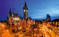 Manchester is Britain's second most economically active city, but London's economy is seven times stronger.