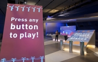 Engineer your Future exhibition interactive game - Science Museum