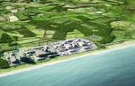 Hinkley Point C would sit next to Hinkley Point B on the Somerset coast with the intention for it to be generating electricity just as the B station nears the end of its life